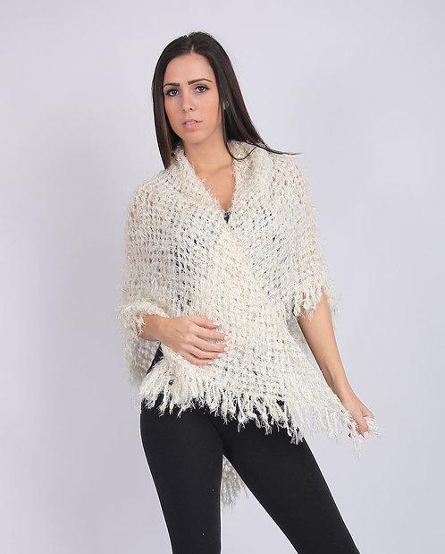 Hand-knit Knit Shawl/Scarf