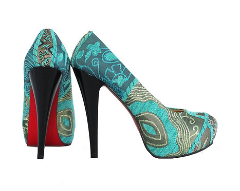 Blue - Stiletto Pumps