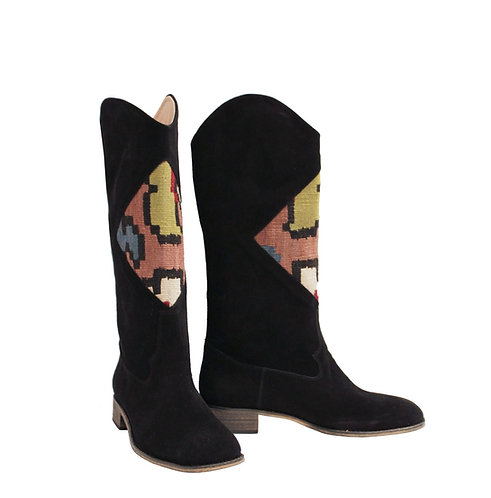 Kilim Suede Pull On - Western Riding