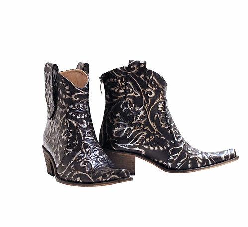 Leather Midnight Jasmine - ANK Cowboys
