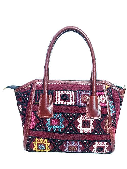 Kilim Leather Handbag