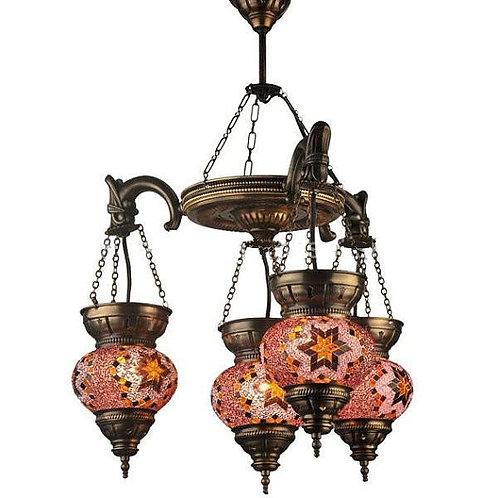 Turkish Glass Mosaic Lantern