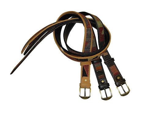 Kilim Leather Jean Belts