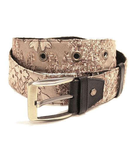 Textile Copper Adjustable Jean Belt