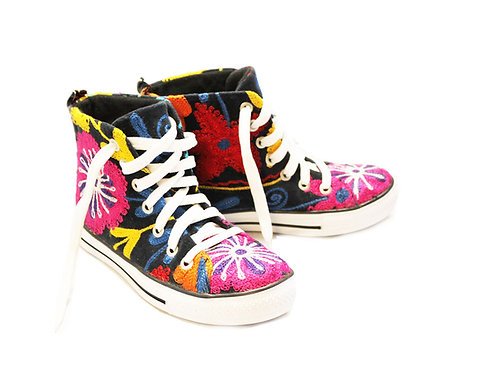 One of a Kind Suzani - High Top Sneaker