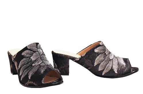 Grey Garden - Mule Sandals