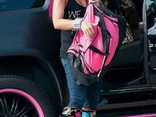 JWoWW of MTV in her Zeyzani Boots