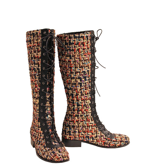 Urban Rainbow Lace Up Front - Riding
