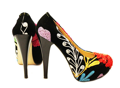 One of a Kind Suzani - Stiletto Pumps