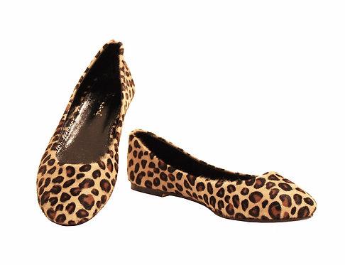 Cheetah Print Calf Hair - Babette