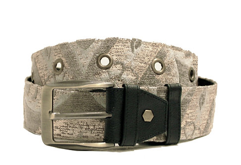 Textile Rose Gold Adjustable Jean Belt