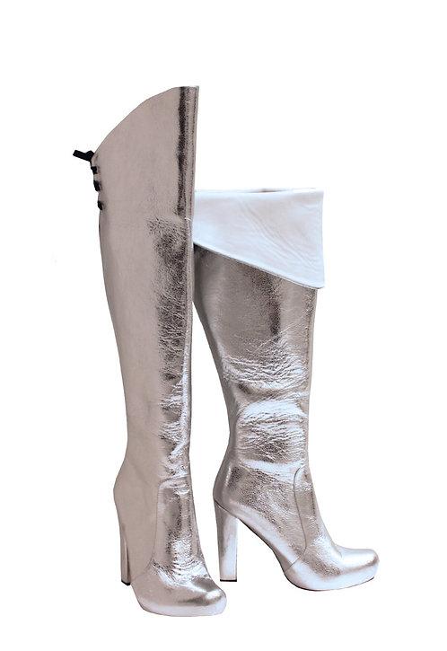 Silver Leather - OTK Chunky