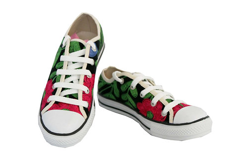 One of a Kind Suzani - Converse Sneakers