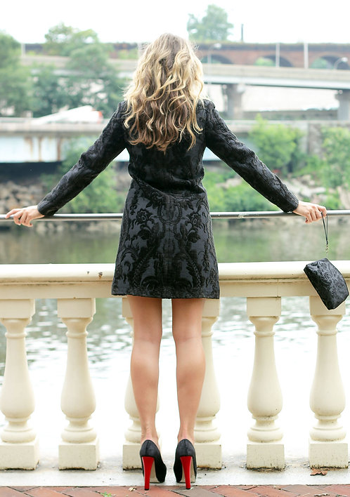 Kaftan Coat - Black