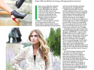 Zeyzani Exclusive Interview with XPLORE Magazine Spring 2015