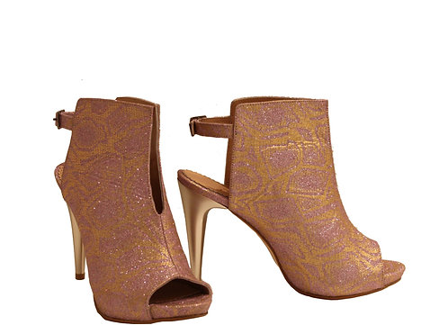 Gold Sparkle - Stiletto