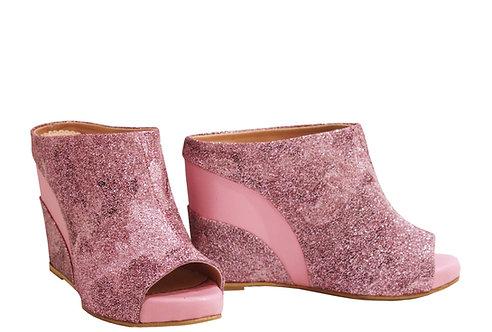 Pink Night - Slip On Wedge