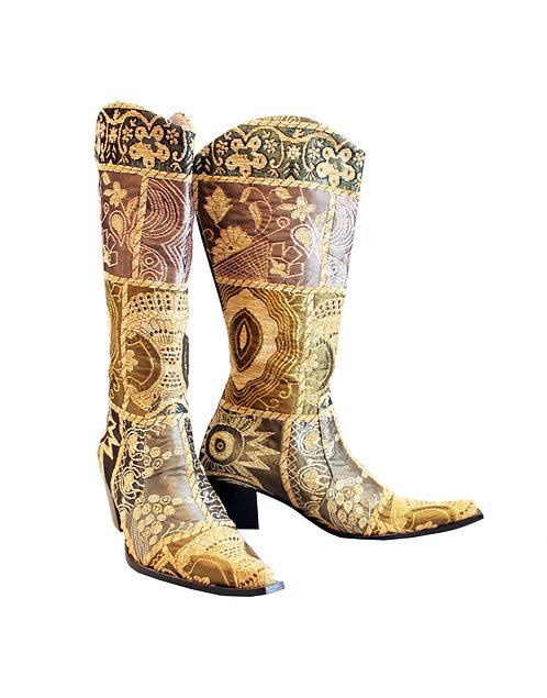 Gold Zari - Cowboys