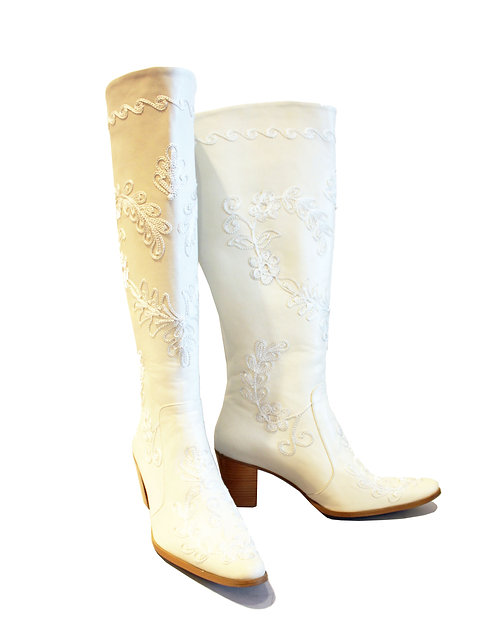 Leather - Cuban Heel