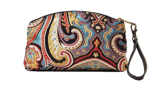 Textile Clutch/Wristlet