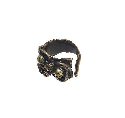 Copper Fire Ring
