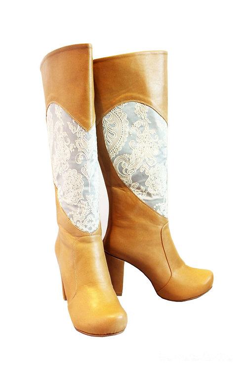 Leather - Love Chunky Heel
