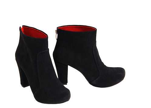 All Black Suede - ANK Chunky