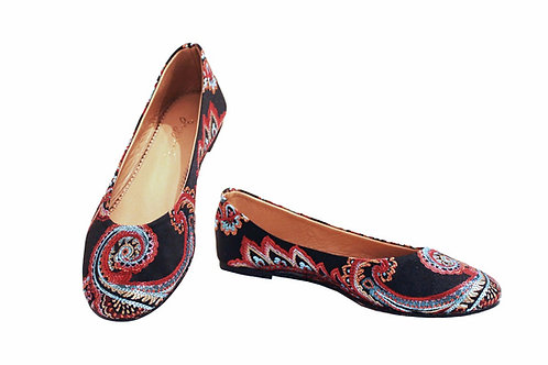 Red Paisley - Babette