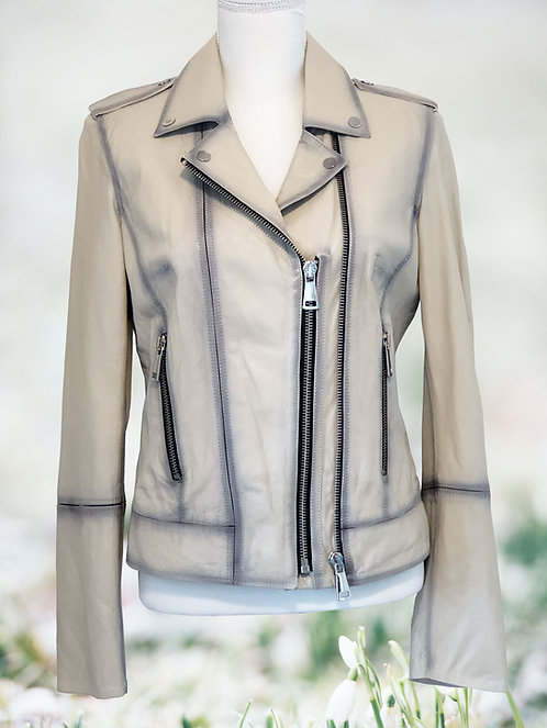 Leather Jacket - Neutral