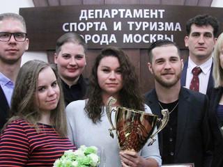 Команда Северо-Западного административного округа города Москвы стала победителем общекомандного зач