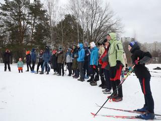 В Северном Тушине прошла лыжная гонка альпинистов, посвященная памяти Колганова Алексея Исааковича