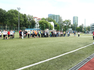 В районе Покровское-Стрешнево состоялся спортивный фестиваль, посвященный Дню России и Дню молодежи