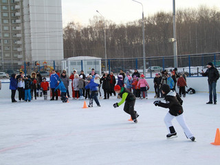 """В Митино пройдут традиционные ежегодные соревнования по конькобежному спорту """"Лед надежды нашей"""