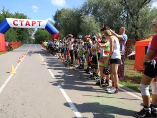 В Строгино состоялись  традиционные соревнования по лыжероллерам, роликовым конькам и гонкам спортсм