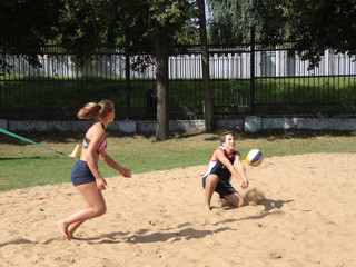 """В Северо-Западном округе пройдут соревнования по пляжному волейболу """"Здравствуй, лето!"""""""