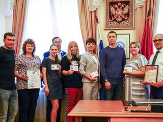 В СЗАО состоялось вручение знаков отличия ВФСК «ГТО»