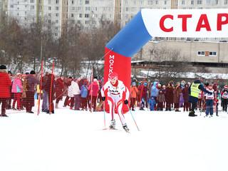 В Северном Тушине прошло первенство Северо-Западного округа по лыжным гонкам