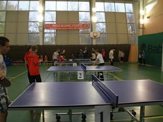 """В ФОК """"Динамика"""" пройдет первенство округа по настольному теннису среди детей"""