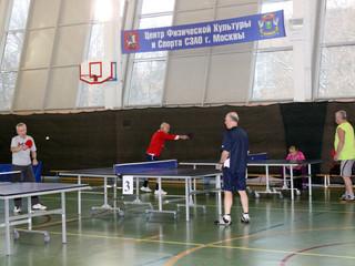 """В ФОК """"Динамика"""" пройдут соревнования по настольному теннису среди людей пожилого возраста"""