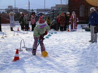 """По программе """"Активный Гражданин"""" в СЗАО состоятся подвижные игры на снегу"""