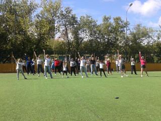 """В рамках программы """"Активный Гражданин"""" в СЗАО пройдет фитнес-зарядка для всех желающих"""