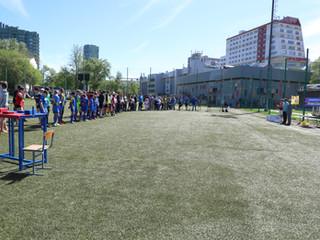 В СЗАО прошел спортивный праздник, посвященный празднованию Дня Победы в Великой Отечественной войне