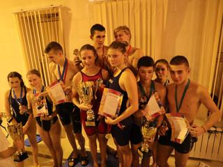 В Северном Тушино прошли соревнования по плаванию, посвященные Дню Матери