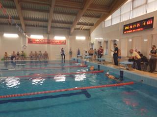 """В бассейне ФОКа """"Лазурный"""" пройдут соревнования по плаванию среди пенсионеров и лиц с нару"""