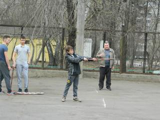 На спортивной площадке по адресу: ул. Маршала Бирюзова, д. 41, пройдут соревнования по городошному с