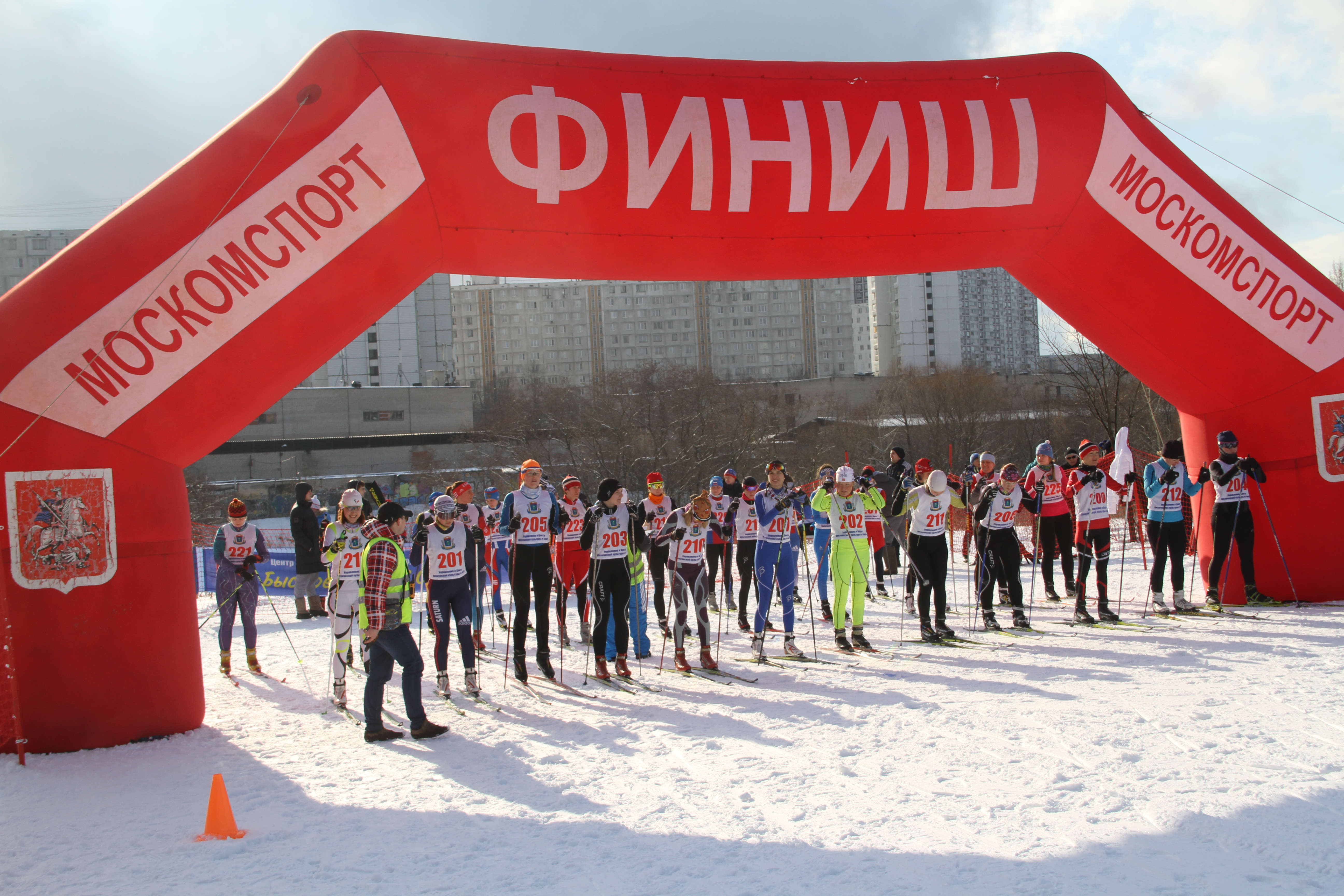 Лыжи.Город.Спорт для всех