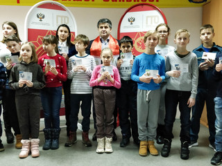 На территории Северо-Западного административного округа города Москвы состоялось торжественное вруче