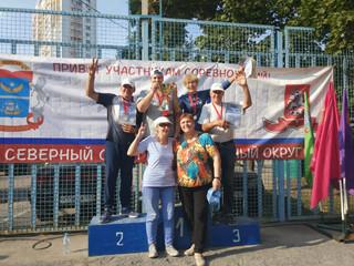Команда Северо-Западного административного округа города Москвы заняла 1-е место в городской Спартак