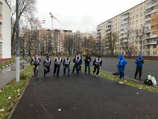 В районе Северное Тушино состоялось выполнение нормативов ВФСК «ГТО» Управления по СЗАО Главного упр