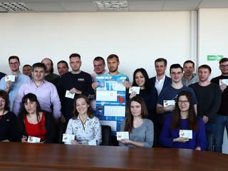 Директор ГБУ «ЦФКиС СЗАО г. Москвы» Москомспорта провел торжественное вручение знаков отличия компле